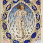 Zodiaco sobre hombre y mujer