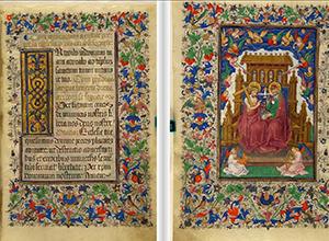Extracto del Libro de Horas de Isabel la Católica