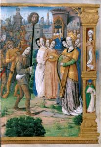 David vence a Goliat (página derecha)