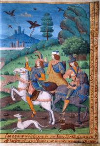 Tres vivos y tres muertos (página derecha)